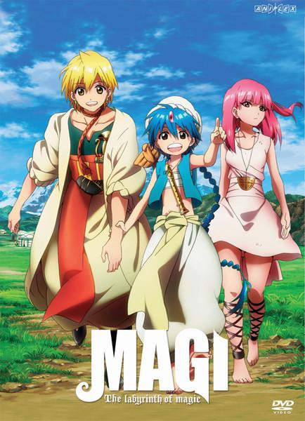 Magi The Labyrinth of Magic Set 1 DVD