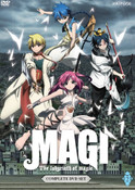 Magi The Labyrinth of Magic Set 2 DVD