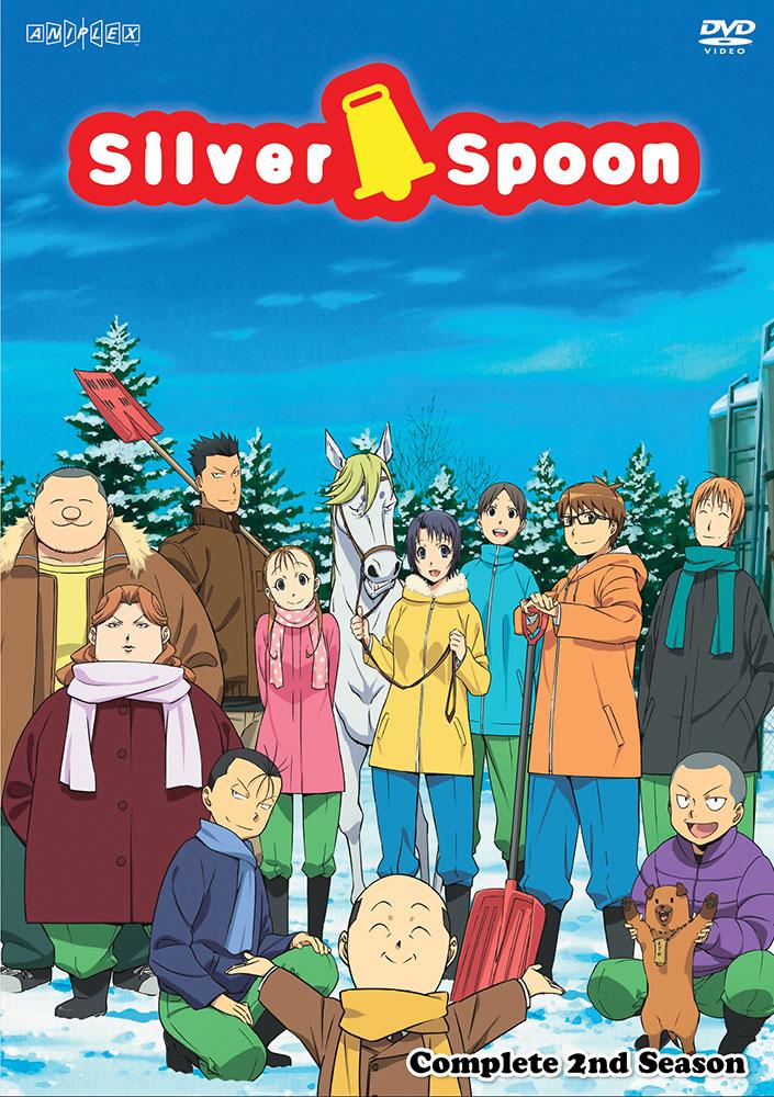 Silver Spoon Season 2 DVD