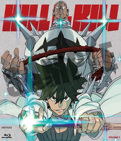 Kill la Kill Blu-ray 3 850527003820