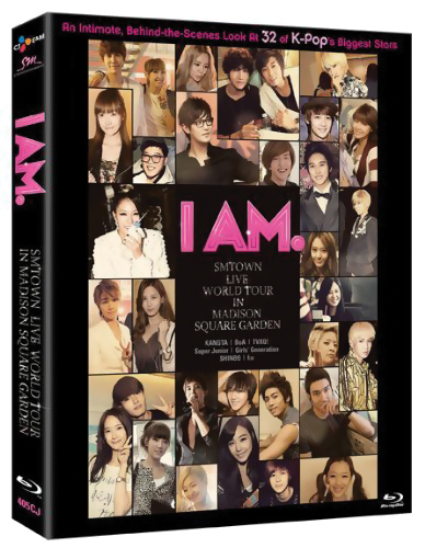 I AM. SM TOWN Live World Tour in Madison Square Garden Blu-ray 851339004050