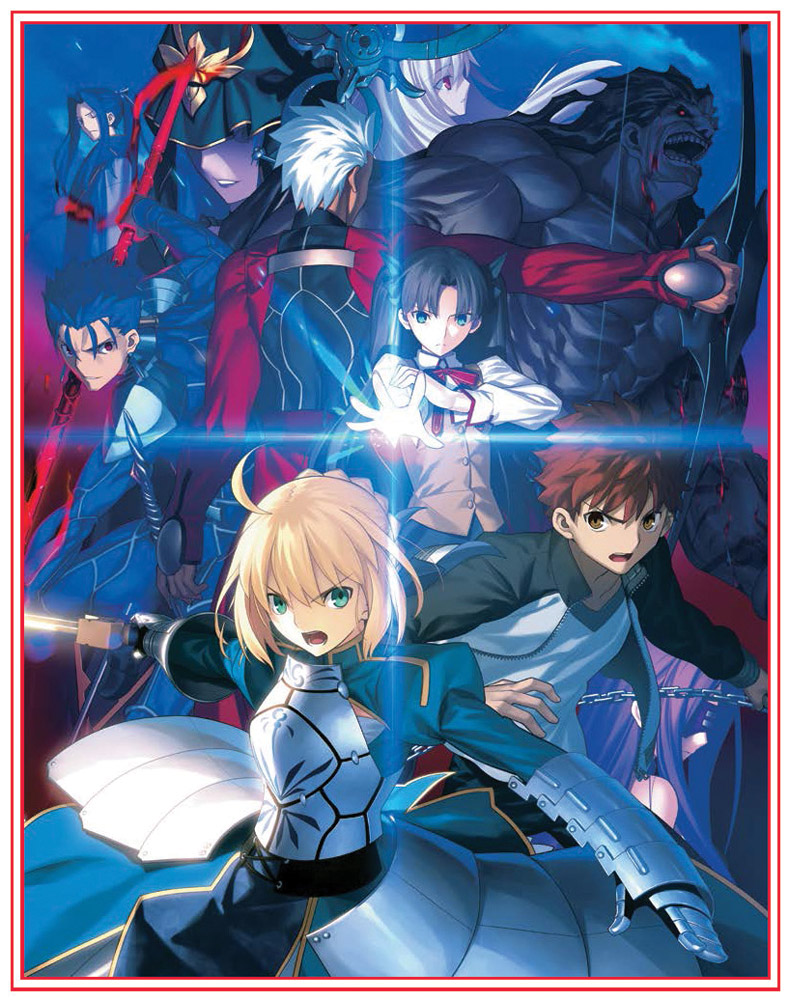 Fate Stay Night Unlimited Blade Works Box Set 1 Limited