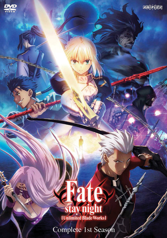 Fate/stay night: Unlimited Blade Works Season 1 DVD