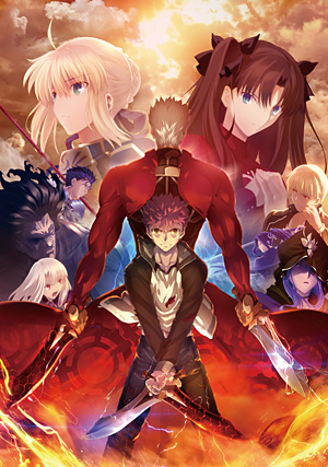 Fate/stay night Unlimited Blade Works Season 2 DVD 851822006172