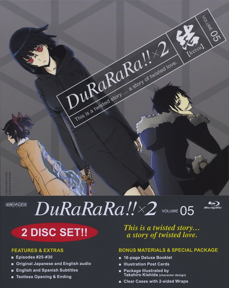 Durarara!! x 2 Volume 5 Blu-ray 851822006226
