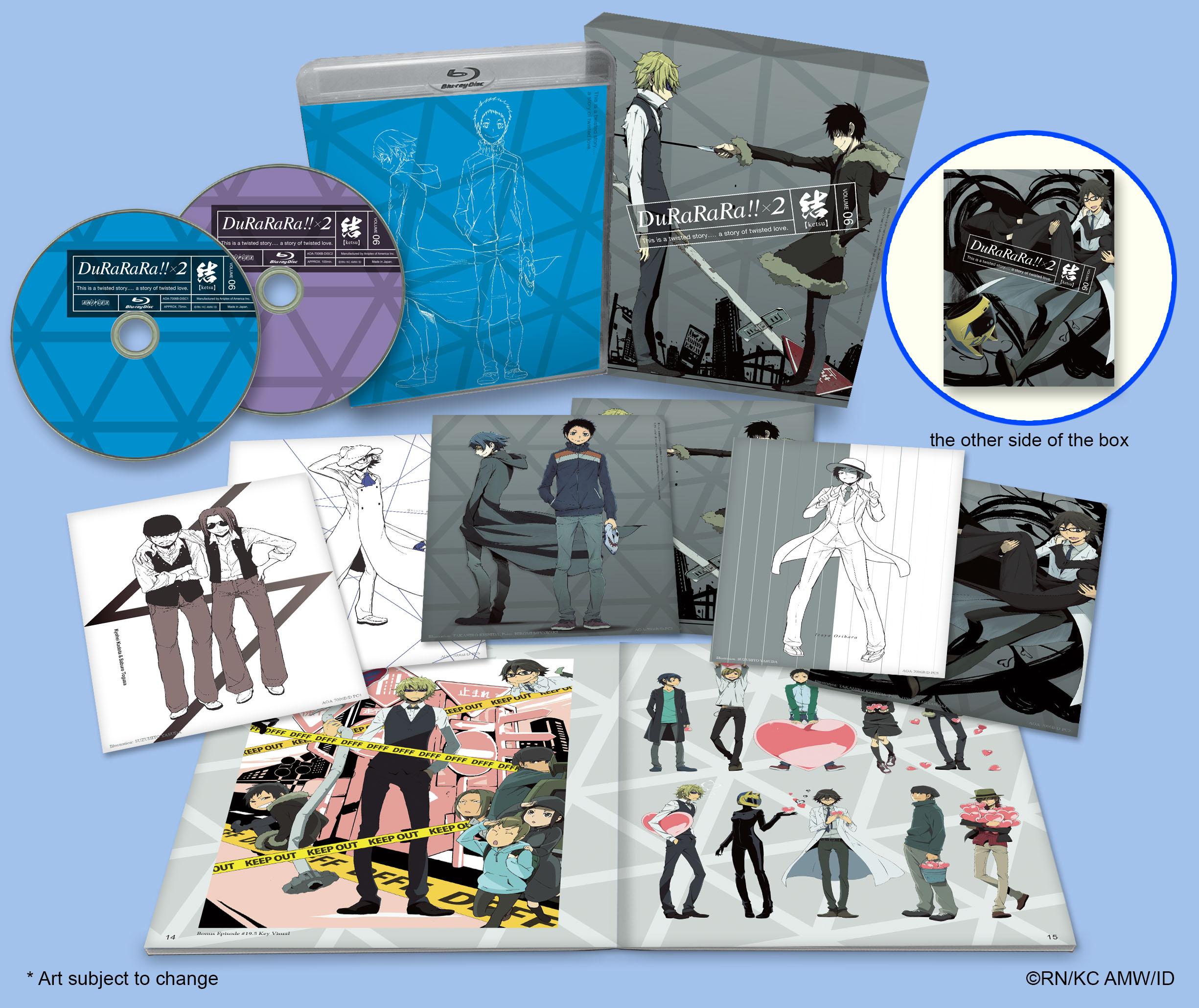 Durarara!! x 2 Volume 6 Blu-ray 851822006240