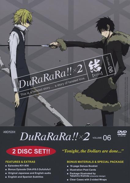 Durarara!! x 2 Volume 6 DVD