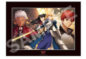 Fate/stay night Unlimited Blade Works Exclusive Cel Frame Artwork