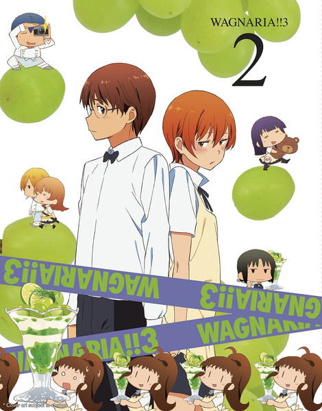 Wagnaria!!3 Volume 2 Blu-ray