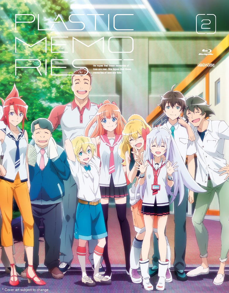 Plastic Memories Volume 2 Blu-ray 851822006905