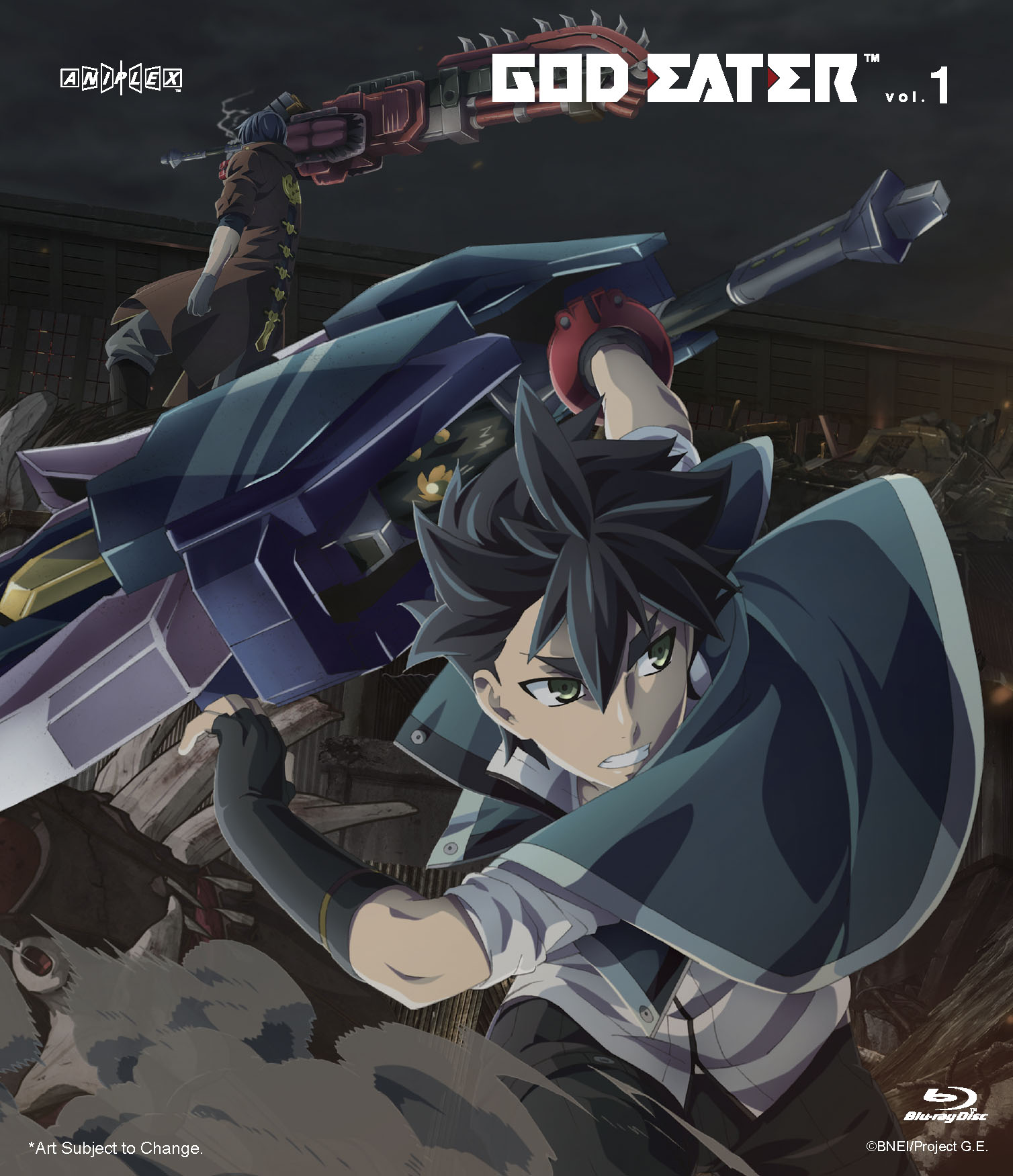 God Eater Volume 1 Blu-ray 851822006912