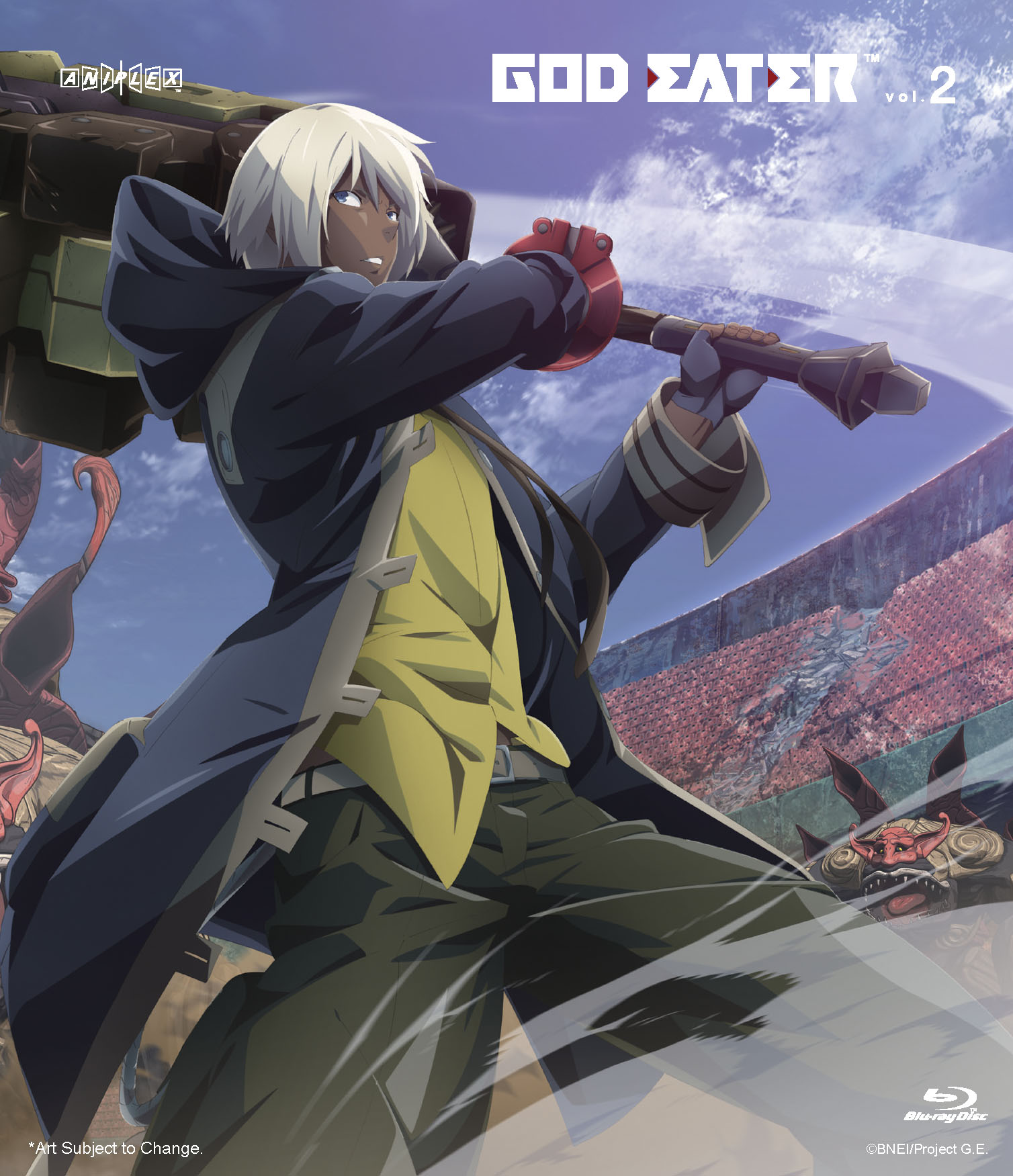God Eater Volume 2 Blu-ray 851822006929