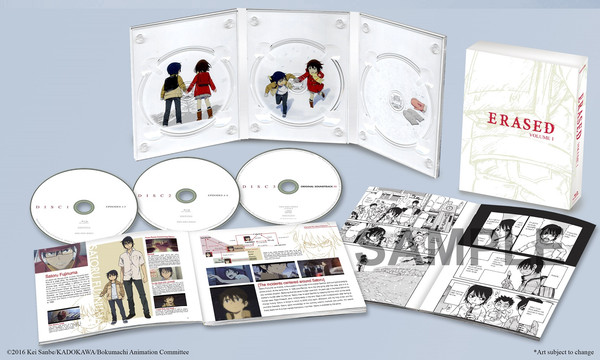 Erased Volume 1 Blu-ray