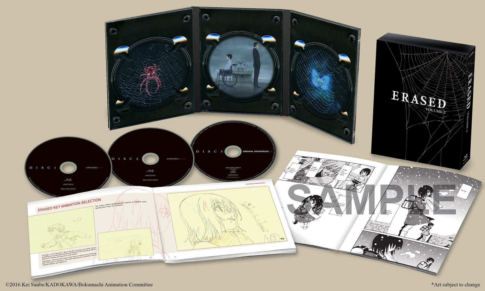 Erased Volume 2 Blu-ray