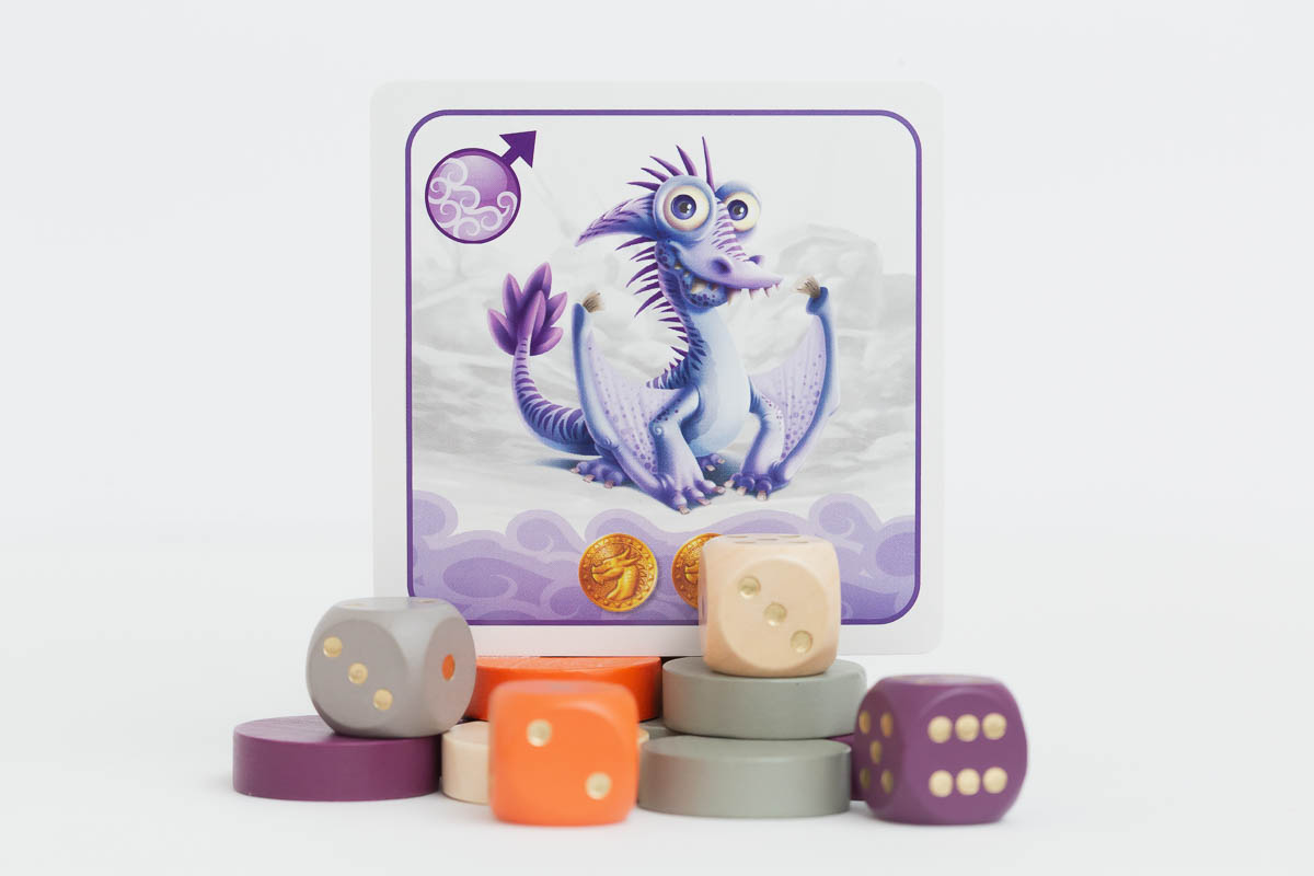 Dragon Pets Dice Game