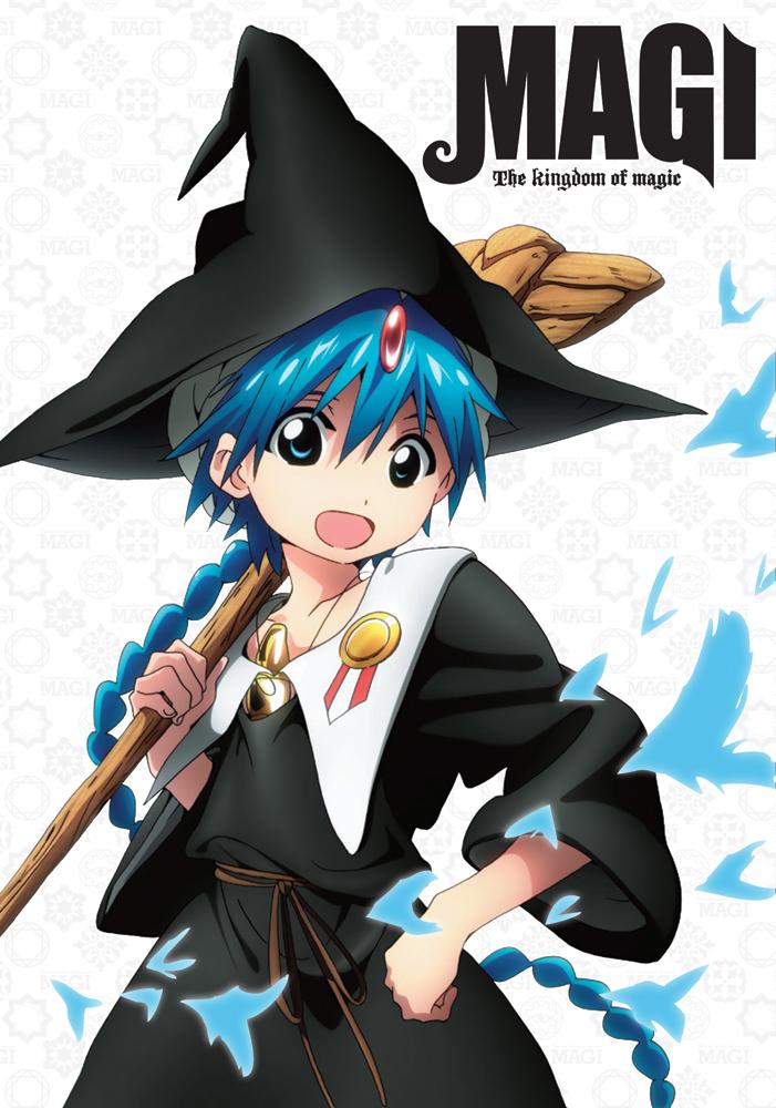 Magi The Kingdom of Magic DVD Set 1