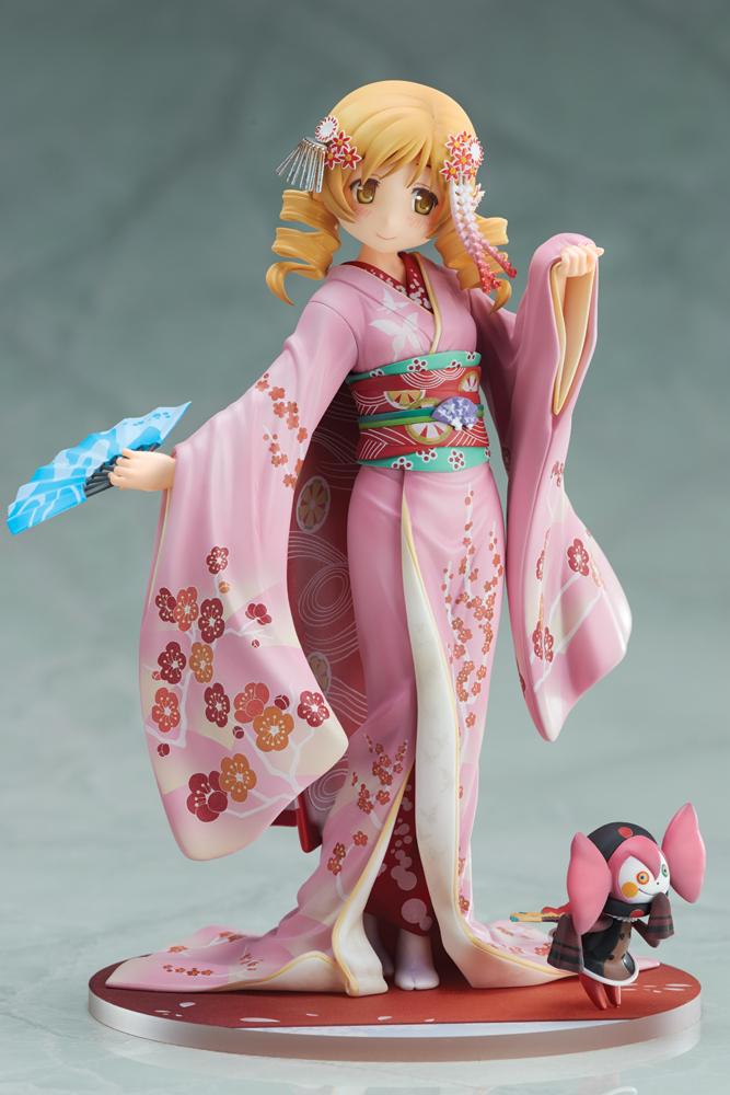 Mami Tomoe Kimono Puella Magi Madoka Magica Figure