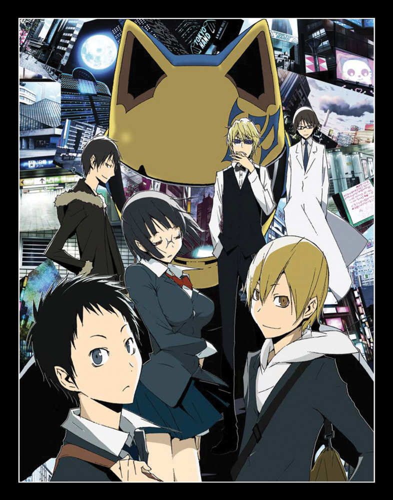 Durarara Box Set Blu-ray 856137005407