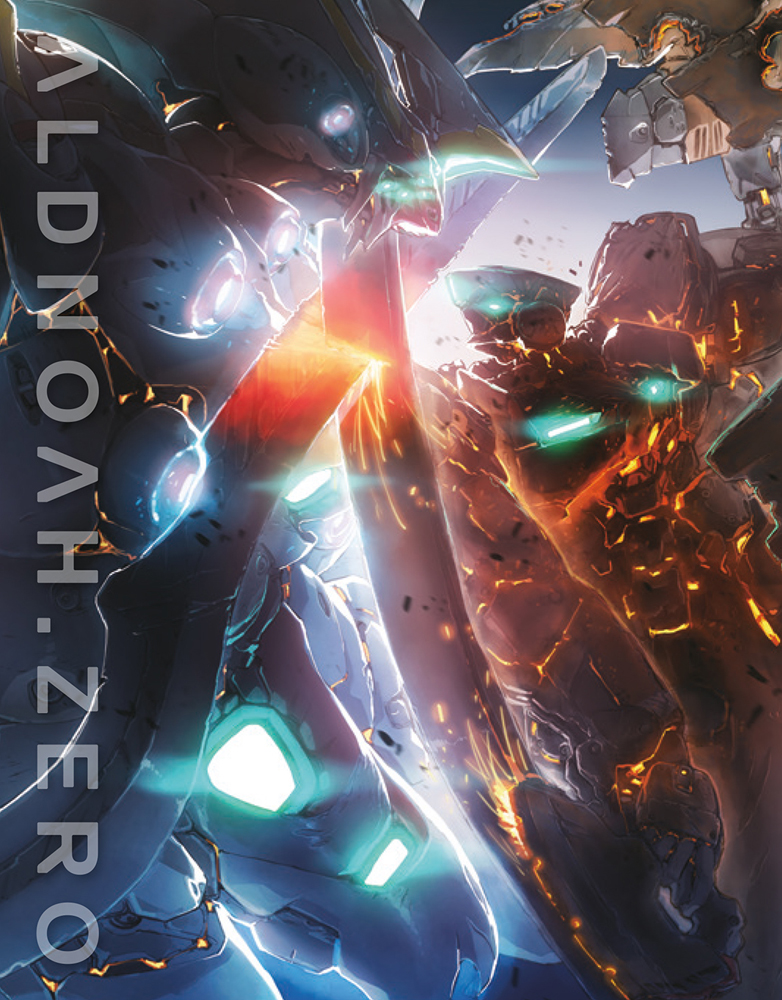 ALDNOAH.ZERO Set 4 Limited Edition Blu-ray 856137005544