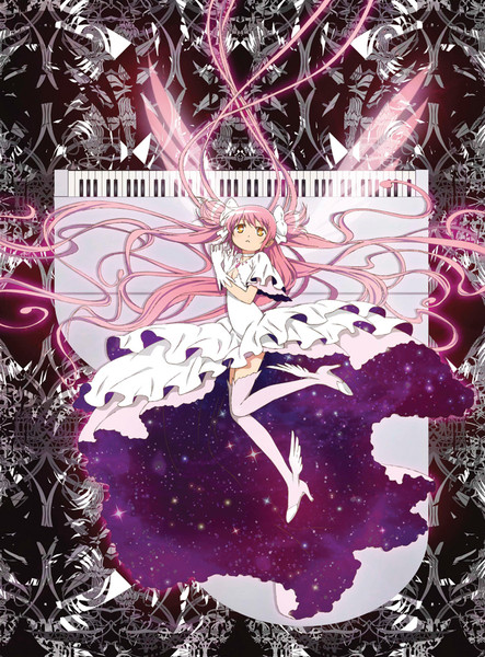Puella Magi Madoka Magica Acrylic Art Ultimate Madoka on Piano