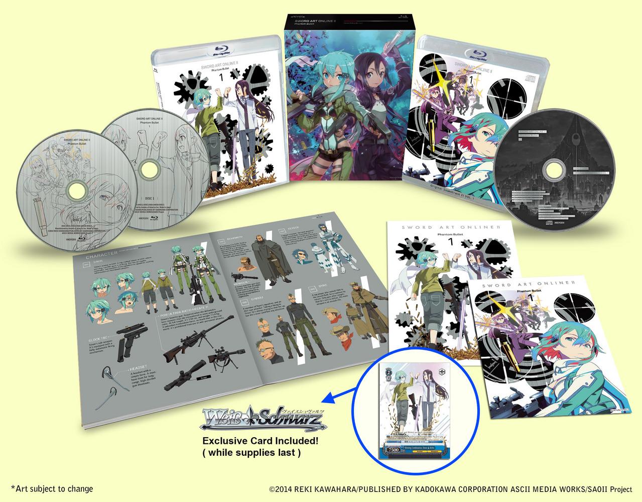 Sword Art Online II LE 1 Alt