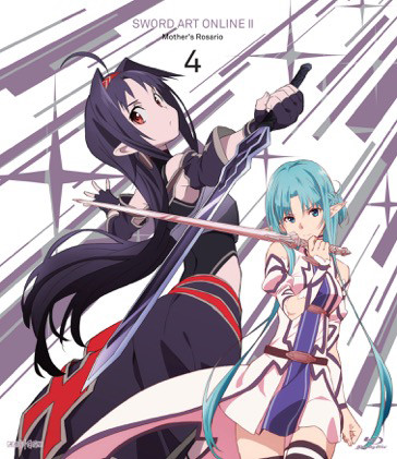 Sword Art Online II Set 4 Limited Edition Blu-ray 856137005742