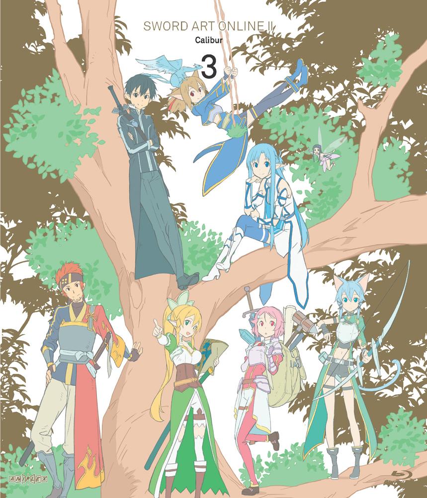 Sword Art Online II Set 3 Blu-ray 856137005773