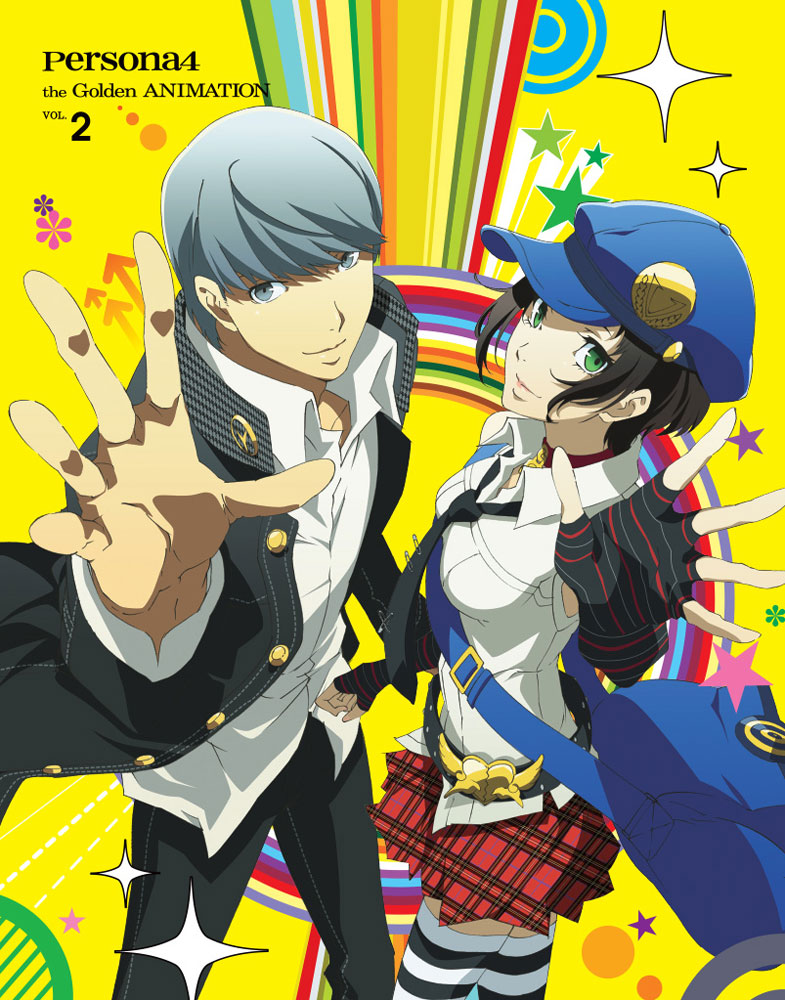 Persona 4 the Golden ANIMATION Blu-ray 2 856137005919
