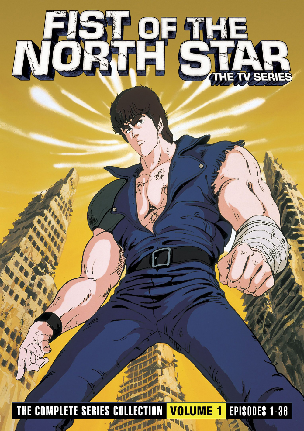 Fist of the North Star: The TV Series Collection 1 DVD 875707004121