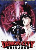 Demon City Shinjuku DVD