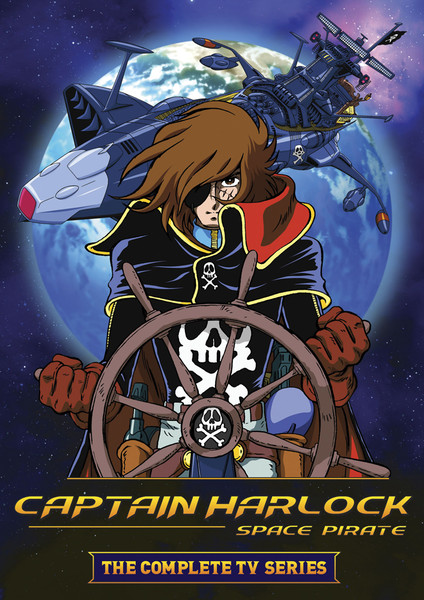 Captain Harlock Space Pirate Complete TV Series DVD