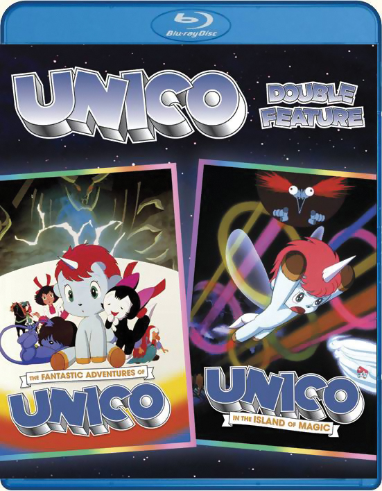 Unico Double Feature Blu-ray 875707009393