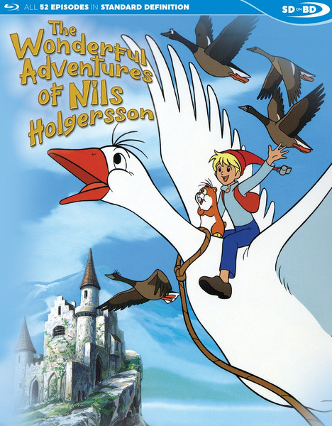 The Wonderful Adventures of Nils Holgersson Blu-ray