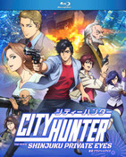 City Hunter Shinjuku Private Eyes Blu-ray