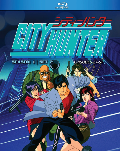 City Hunter Season 1 Part 2 Blu-ray