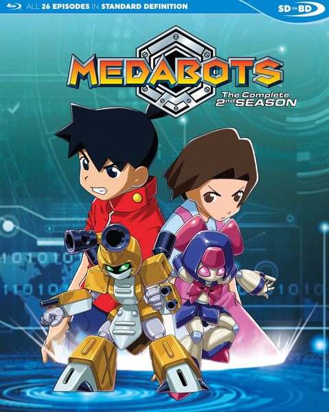 Medabots Season 2 Blu-ray
