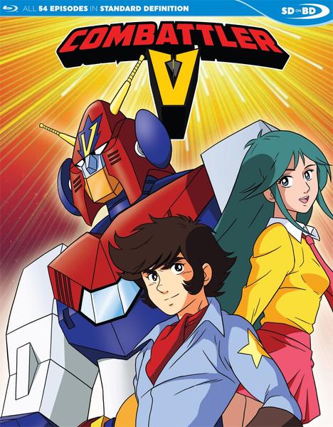 Combattler V Blu-ray