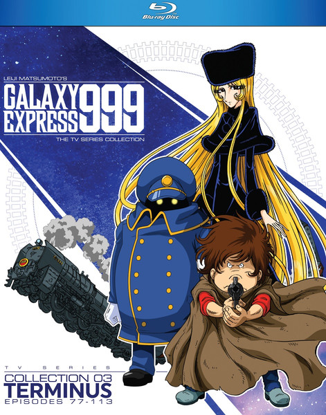 Galaxy Express 999 TV Series Collection 3 Blu-ray