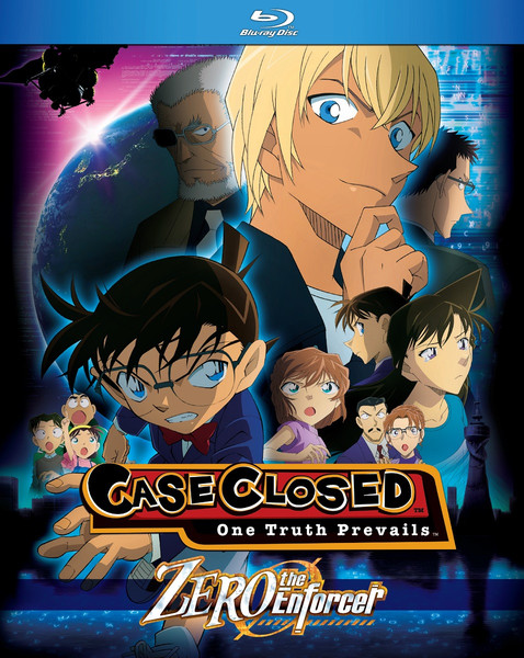 Case Closed Zero The Enforcer Blu-ray