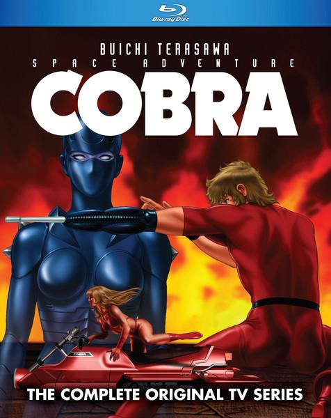 Space Adventure Cobra TV Series Blu-ray