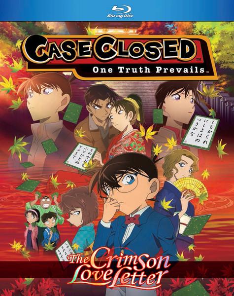Case Closed The Crimson Love Letter Blu-ray