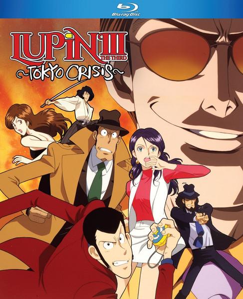 Lupin The 3rd Tokyo Crisis Blu-ray