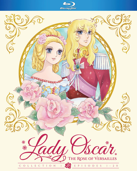Lady Oscar The Rose of Versailles Collection 1 Blu-ray