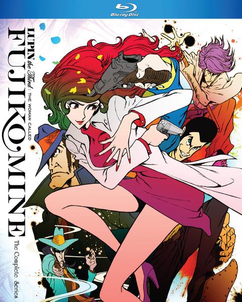 Lupin the 3rd The Woman Called Fujiko Mine Blu-ray