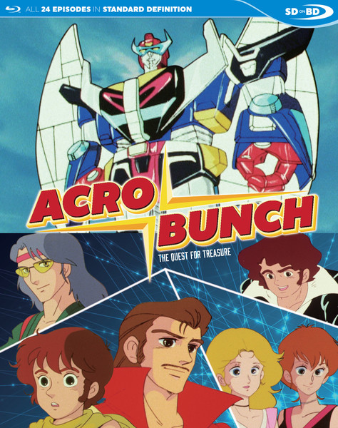 Acrobunch Blu-ray