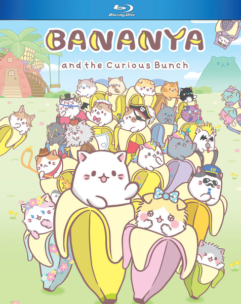Bananya and the Curious Bunch Blu-ray