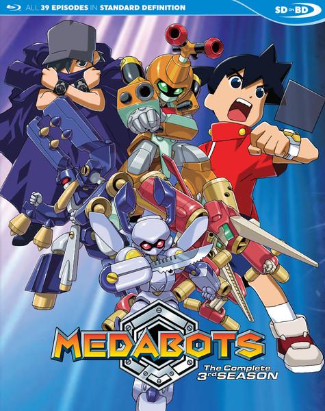 Medabots Season 3 Blu-ray