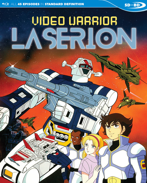 Video Warrior Laserion TV Series Blu-ray