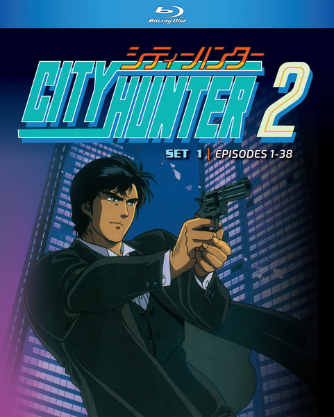 City Hunter Season 2 Part 1 Blu-ray
