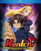 Kenichi the Mightiest Disciple Season 1 Blu-ray